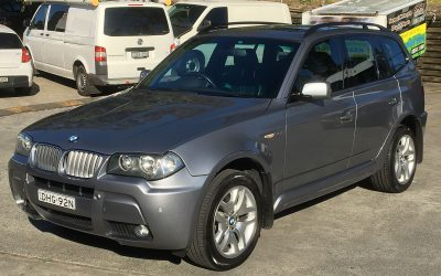 2007 BMW X3 – SOLD